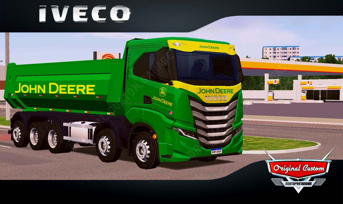 SKINS WORLD TRUCK DRIVING – IVECO S-WAY JHON DEERE