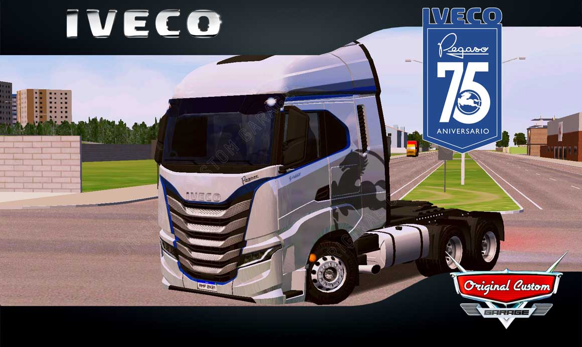 SKINS WORLD TRUCK DRIVING – IVECO S-WAY PEGASO