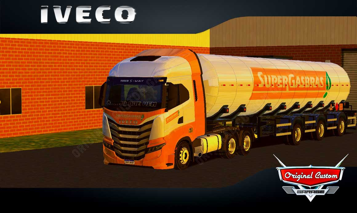 SKINS WORLD TRUCK DRIVING – IVECO S-WAY SUPERGASBRAS