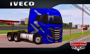 SKINS WORLD TRUCK DRIVING - IVECO S-WAY AZUL
