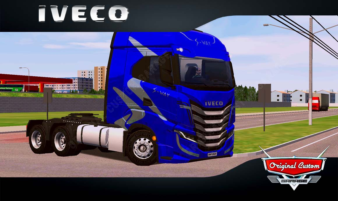 SKINS WORLD TRUCK DRIVING – IVECO S-WAY AZUL