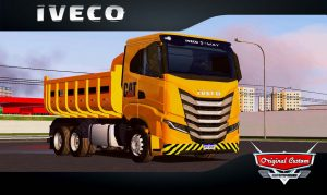 SKINS WORLD TRUCK DRIVING - IVECO S-WAY CAT