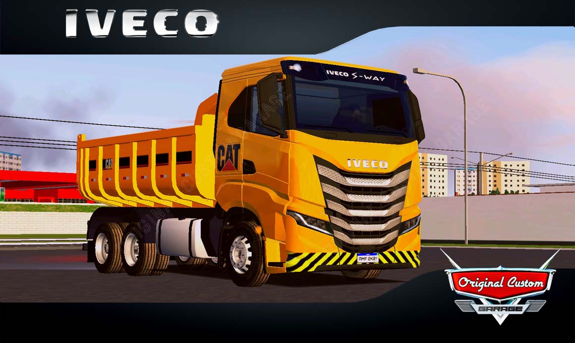 SKINS WORLD TRUCK DRIVING – IVECO S-WAY CAT