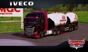 SKINS WORLD TRUCK DRIVING - IVECO S-WAY CONCRESUL