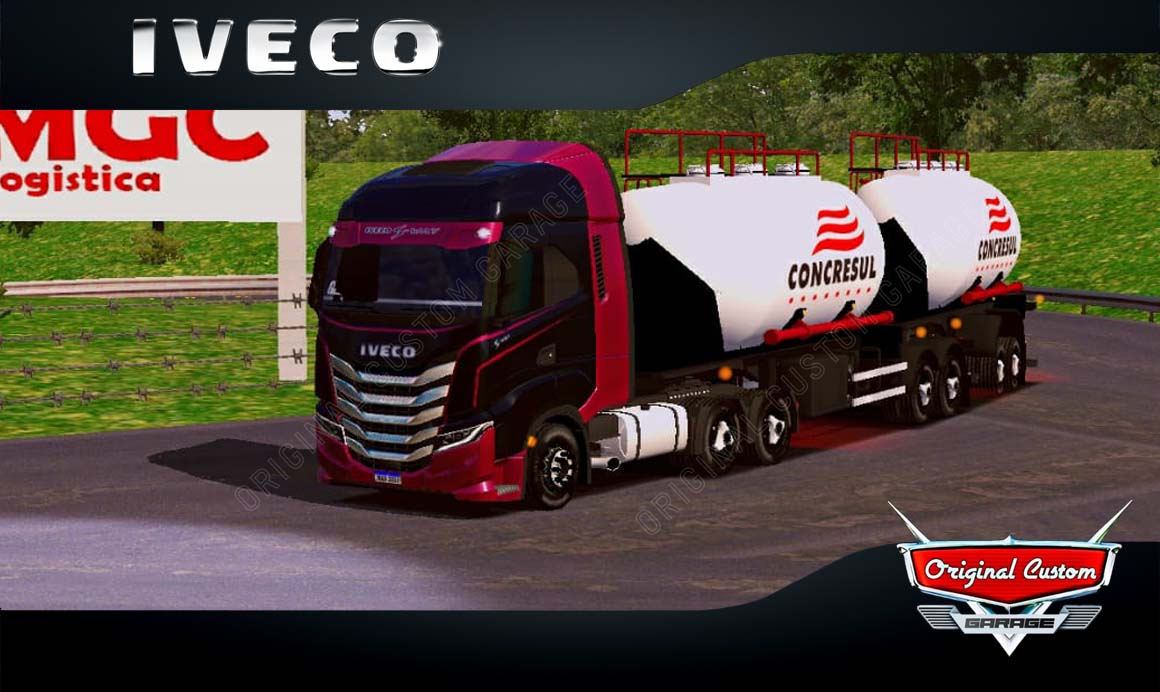 SKINS WORLD TRUCK DRIVING – IVECO S-WAY CONCRESUL