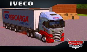 SKINS WORLD TRUCK DRIVING - IVECO S-WAY COOPERCARGA