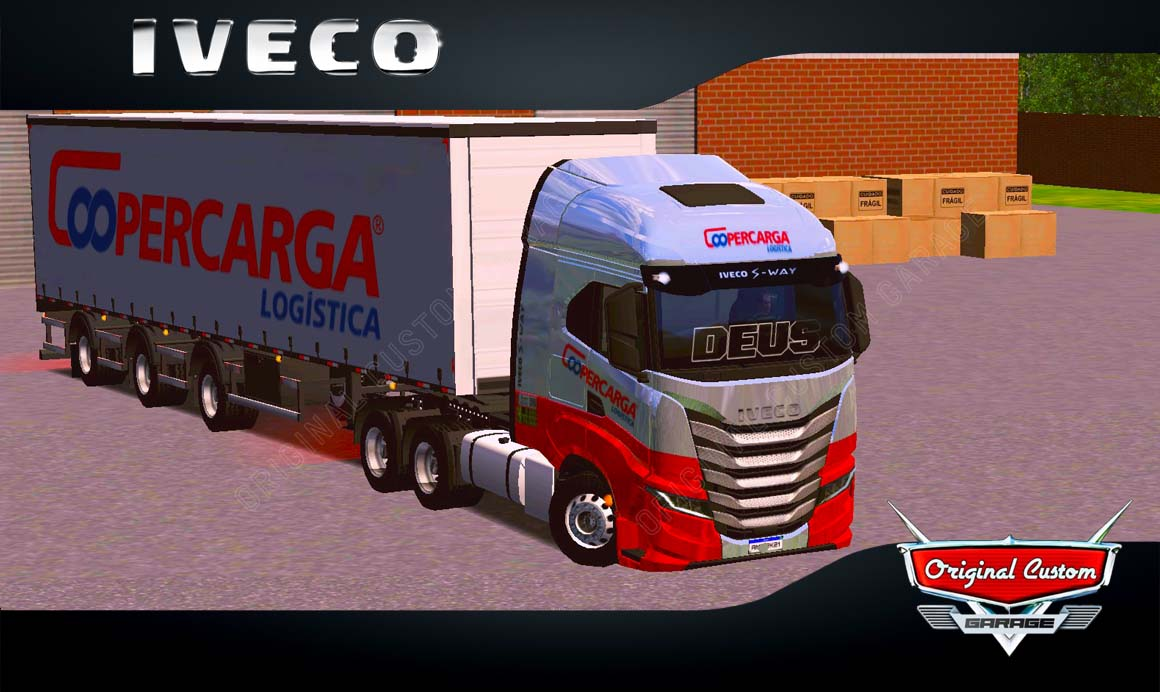SKINS WORLD TRUCK DRIVING – IVECO S-WAY COOPERCARGA