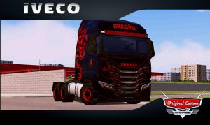 SKINS WORLD TRUCK DRIVING - IVECO S-WAY DRAGÃO
