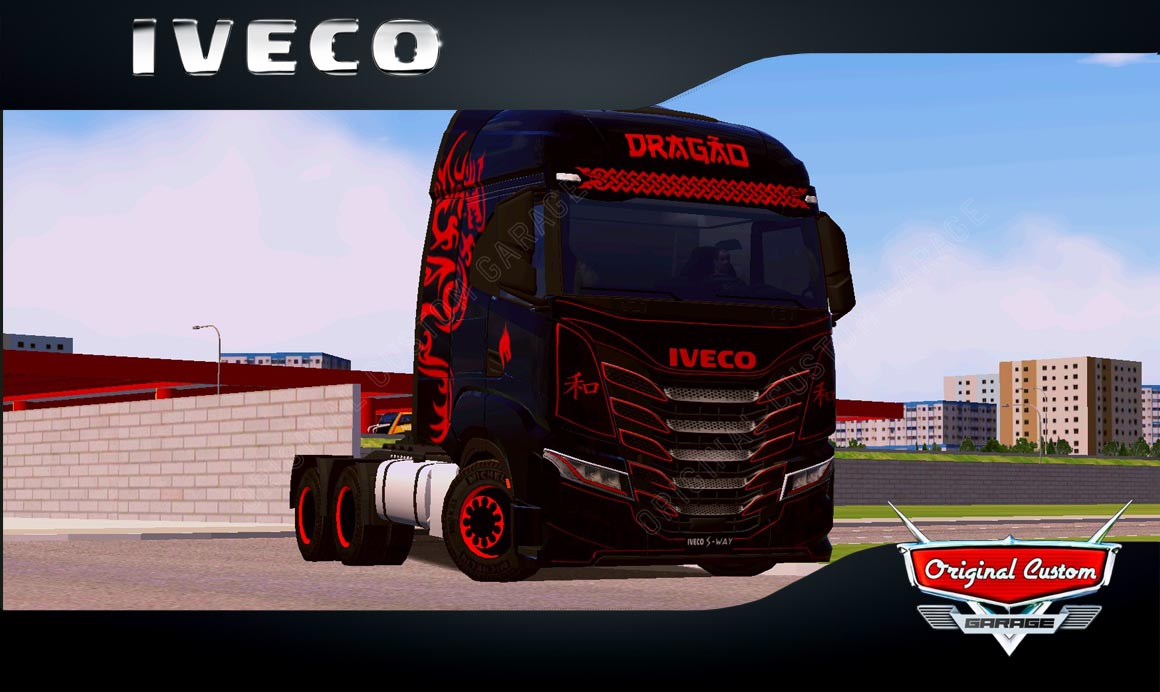 SKINS WORLD TRUCK DRIVING – IVECO S-WAY DRAGÃO