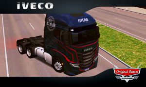 SKINS WORLD TRUCK DRIVING - IVECO S-WAY FITCAB