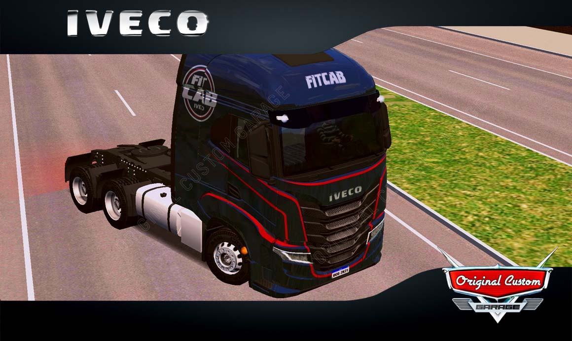 SKINS WORLD TRUCK DRIVING – IVECO S-WAY FITCAB