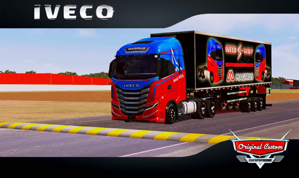 SKINS WORLD TRUCK DRIVING – IVECO S-WAY MAGIRUS