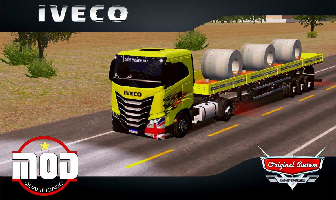 SKINS WORLD TRUCK DRIVING – IVECO S-WAY COM MOD