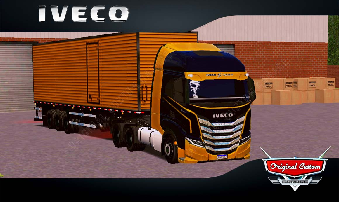 SKINS WORLD TRUCK DRIVING – IVECO S-WAY BAÚ