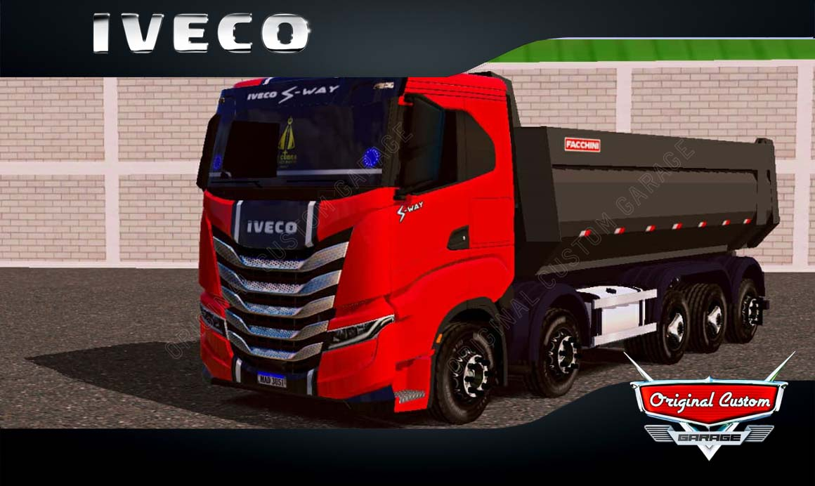 SKINS WORLD TRUCK DRIVING – IVECO S-WAY QUALIFICADO