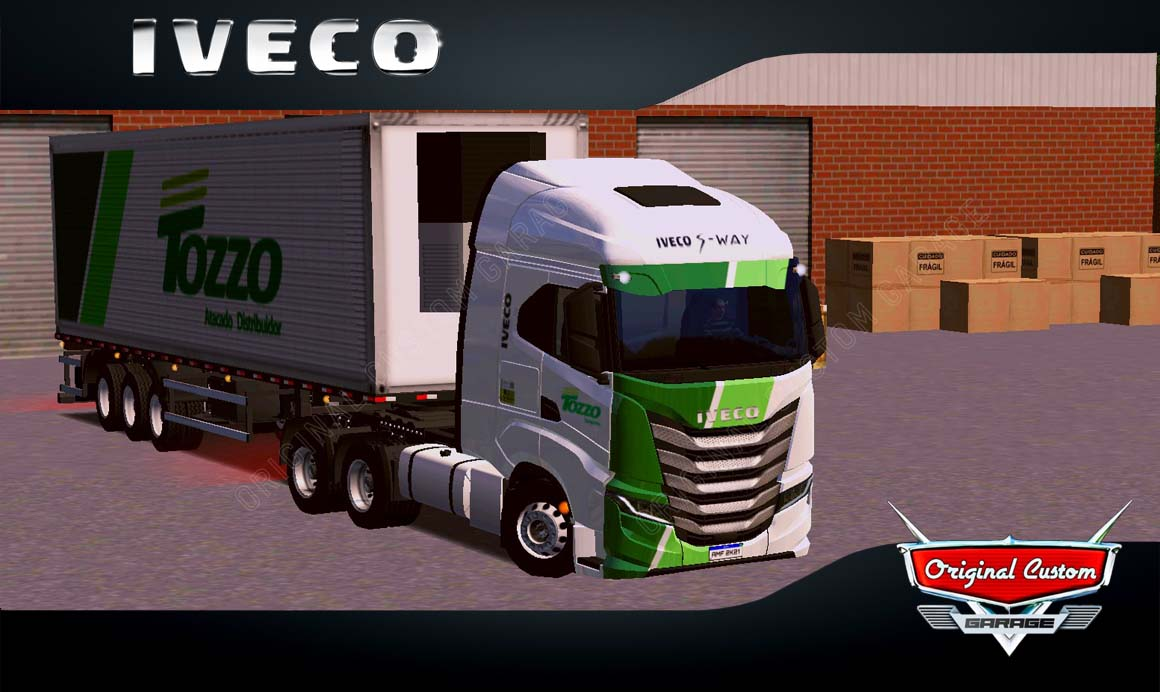 SKINS WORLD TRUCK DRIVING – IVECO S-WAY TOZZO