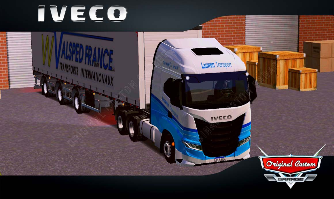 SKINS WORLD TRUCK DRIVING – IVECO S-WAY