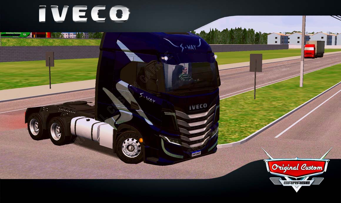 SKINS WORLD TRUCK DRIVING – IVECO S-WAY NOITE
