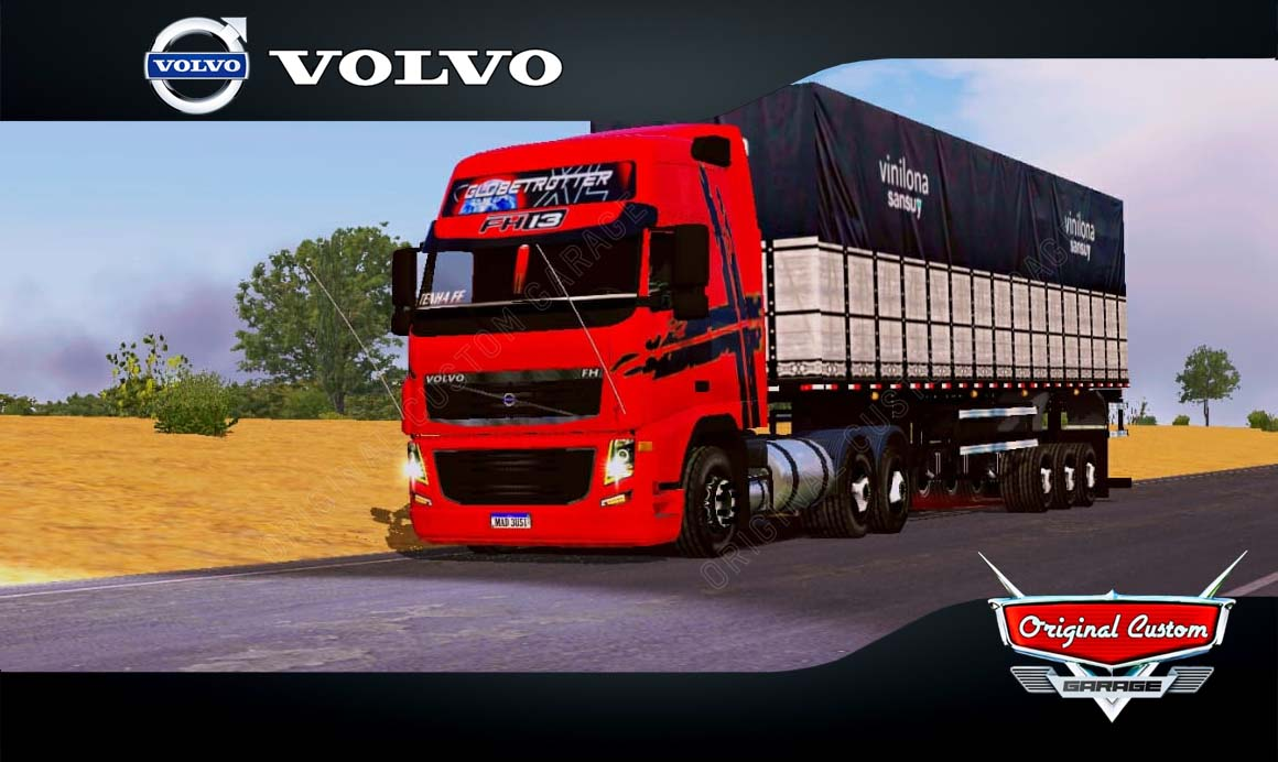 SKINS WORLD TRUCK DRIVING  – VOLVO FH13