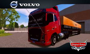 SKINS WORLD TRUCK DRIVING - VOLVO FH SUAVE NA NAVE