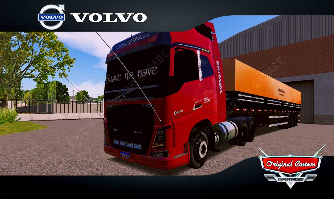 SKINS WORLD TRUCK DRIVING – VOLVO FH SUAVE NA NAVE