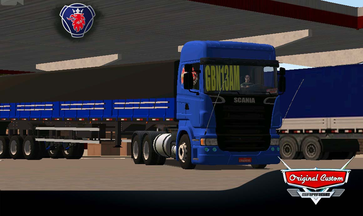 SKINS WORLD TRUCK DRIVING – SCANIA R620 GBN13AM