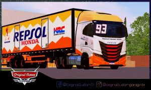 SKINS WORLD TRUCK DRIVING - IVECO S-WAY MARC MARQUEZ