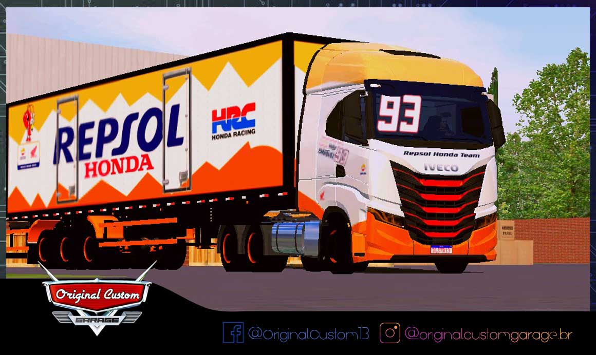 SKINS WORLD TRUCK DRIVING – IVECO S-WAY MARC MARQUEZ