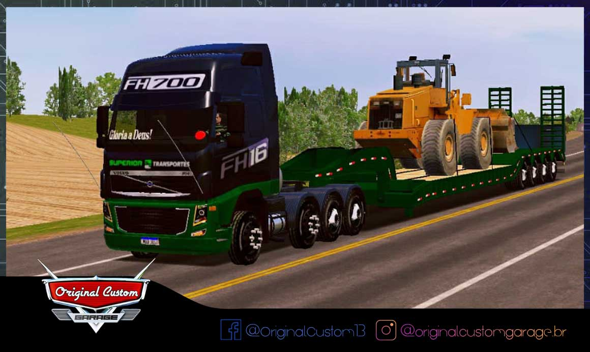 SKINS WORLD TRUCK DRIVING – VOLVO FH 700