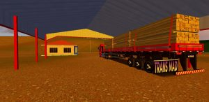 SKINS MOD WORLD TRUCK DRIVING - VW CONSTELLATION RED