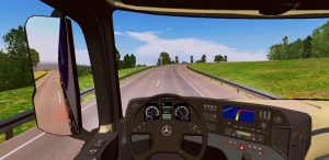 MOD VOLANTE MERCEDES ACTROS WTDS WORLD TRUCK DRIVING SIMULATOR