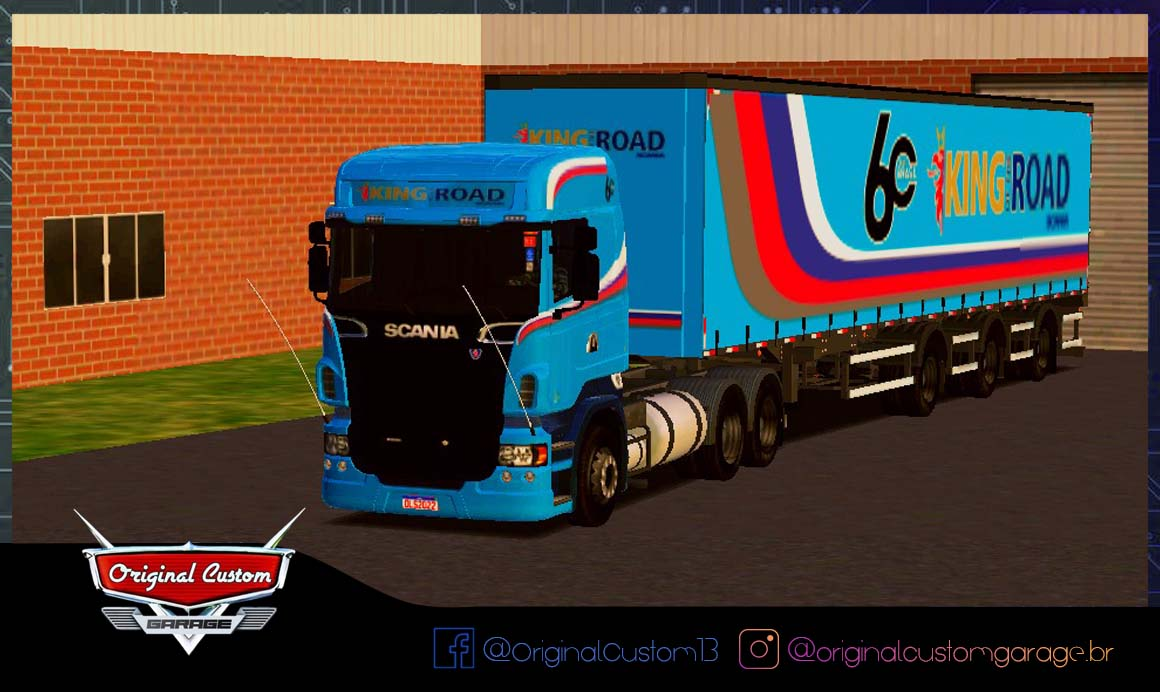 SKINS WTDS – SCANIA R620 60 ANOS KING ROAD
