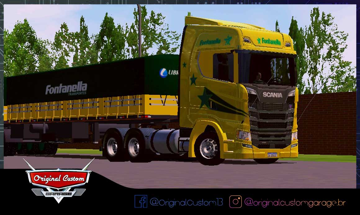 SKINS WORLD TRUCK DRIVING – SCANIA S FONTANELLA 30 ANOS